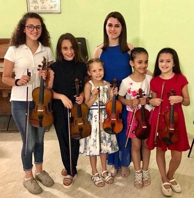Saggio di violino 2018