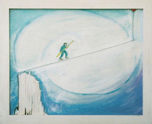 OHNE TITEL - Acryl 2002 40x50