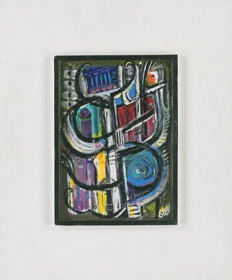 BAROCKMUSIK - Acryl 2005 30x25