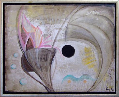 OHNE TITEL (grau) - Acryl 2008 40x50