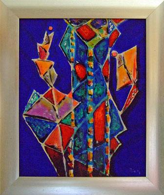 FLORALE STRUKTUR - Acryl 2007 25x20