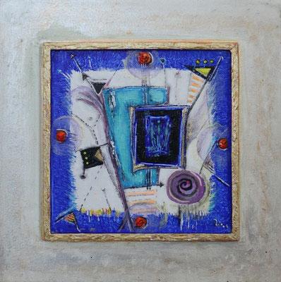 KOSTBARE ERINNERUNG - Acryl 2006 22x22