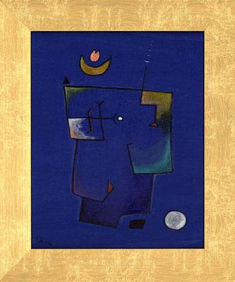 BLAUER TRAUM - Acryl 2006 25x20