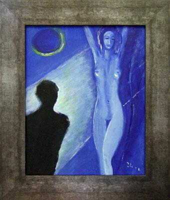 PROJEKTION - Acryl 2006 20x25