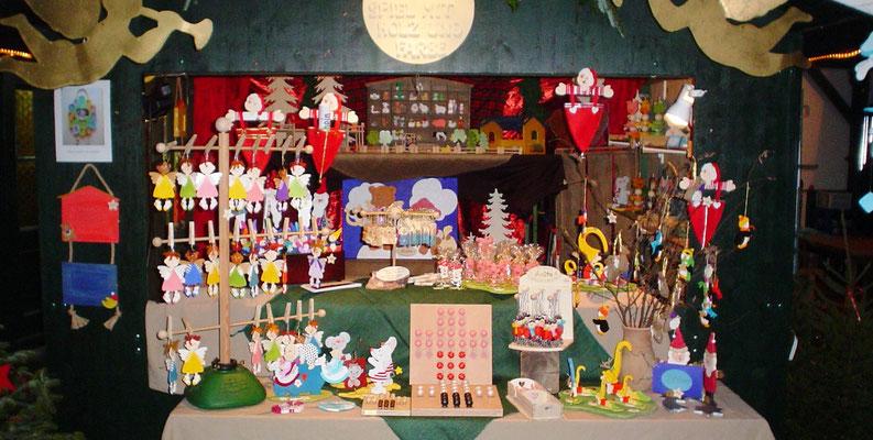 ANITA-und mein Spiel mit Holz und Farbe e.U./ 2007 mein 1. Weihnachtsmarkt