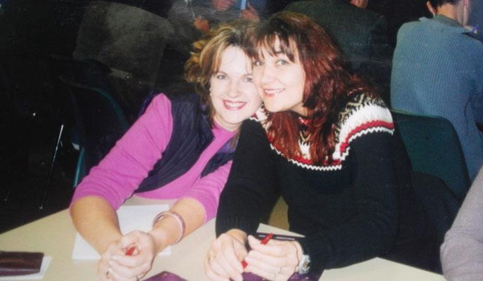 SHANA-Lichtpionier der Neuen Zeit e.U./ Meine Schwester und ich beim MLM