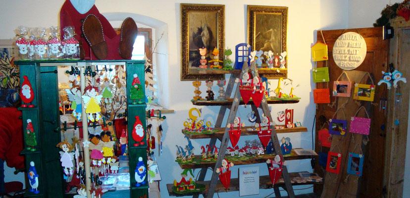 ANITA-und mein Spiel mit Holz und Farbe e.U./2008 mein 2. Weihnachtsmarkt