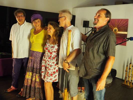 Juni Friedenszeremonie mit Terra musica   Otto Lichtner, Kirsten Feierabend  und Freunden in Wädenswil