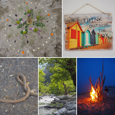 Mai Urlaub in Griechenland direkt am Meer –  meine Leichtigkeit kehrt zurück kreativer Flow - Singen, Malen, Fotografieren, mit dem Rad unterwegs –  einfach im Moment sein