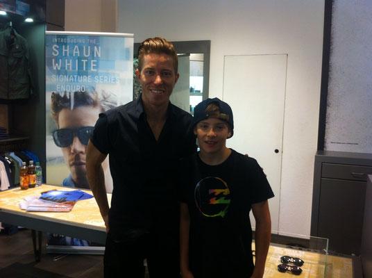 Shaun White und ich