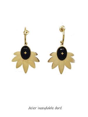Bijoux en acier inoxydable doré