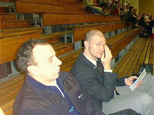 von links: Viktor Frick und Olli Waitz