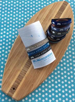 Bracelet Néocombine - recyclage de combinaison de surf
