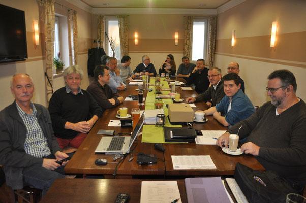 Blick auf die Delegierten