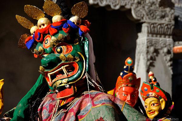 Phyang Tsedup Festival at  Phyang Monastery