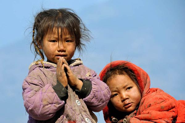 Kids -  Makalu-Barun-Region - Nepal
