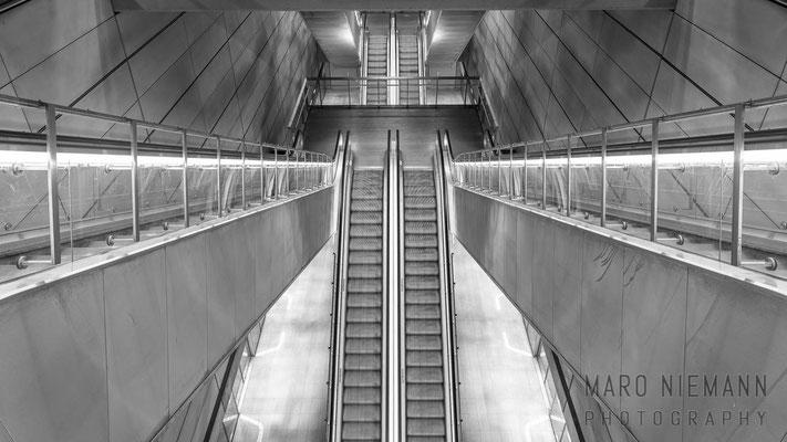 Escalator · Copenhagen Metro