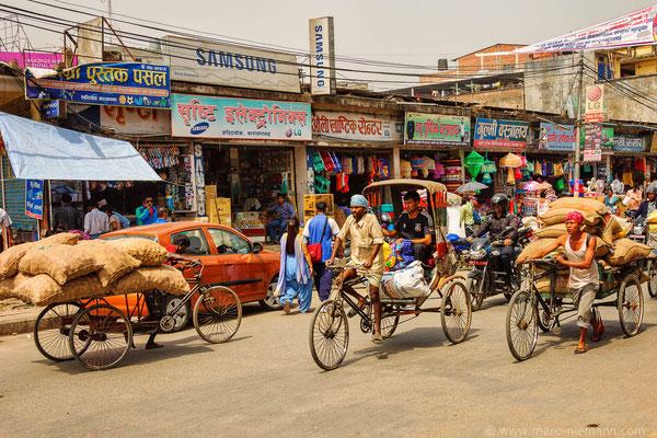 Streets of Bharatpur - Nepal