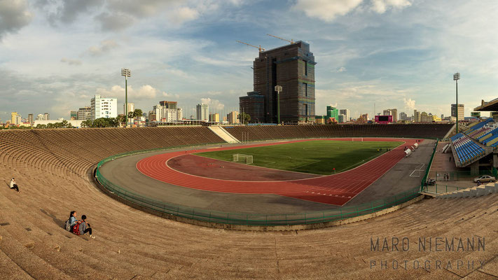 The National Olympic Stadium · Phnom Penh · Cambodia