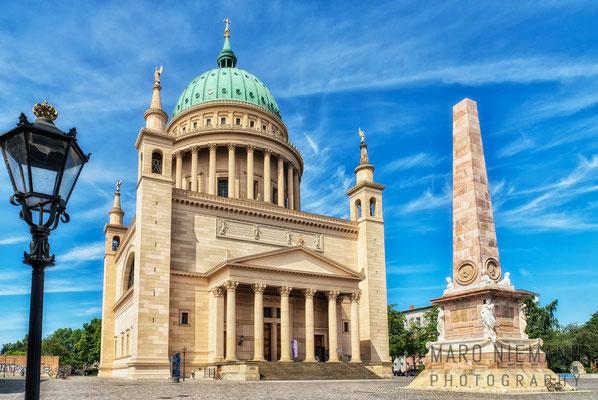 St. Nikolai und Obelisk · Alter Markt