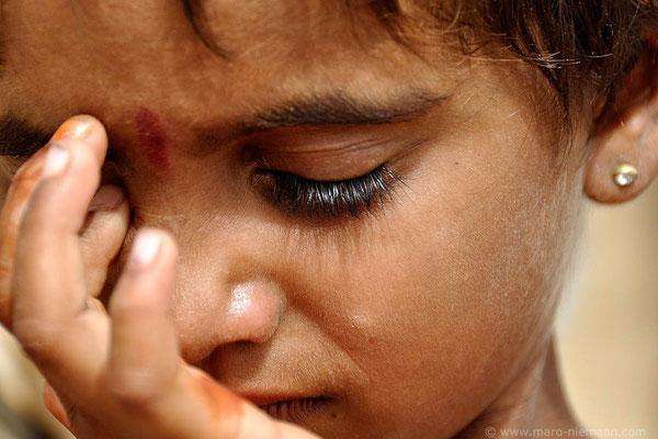 Dalit Girl - Rajasthan - India