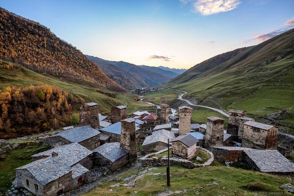 Uchguli, Svanetia - Georgia
