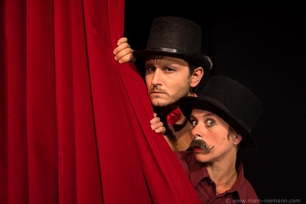 Vlad Chiriac und Ina Gercke - Stage Actors © Maro Niemann