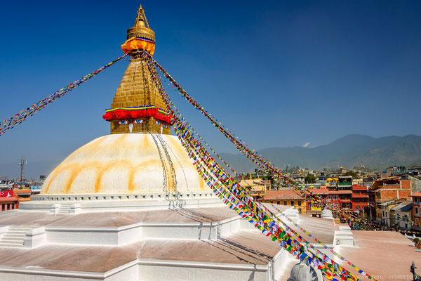 Bauddhanath (Bouddha Stupa) in Kathmandu Valley