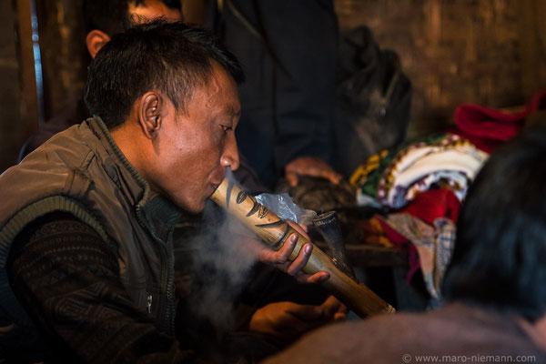 Konyak People - a former headhunter culture - Nagaland