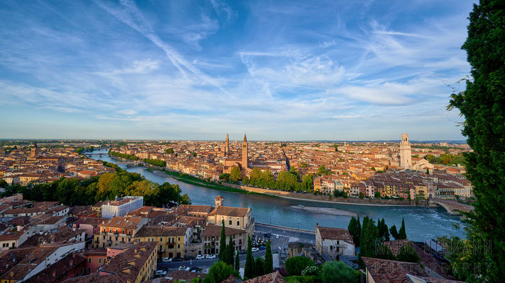 View from Castel San Pietro · Verona · Italy