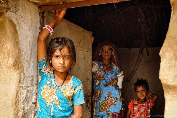 Dalit Family - Rajasthan - India