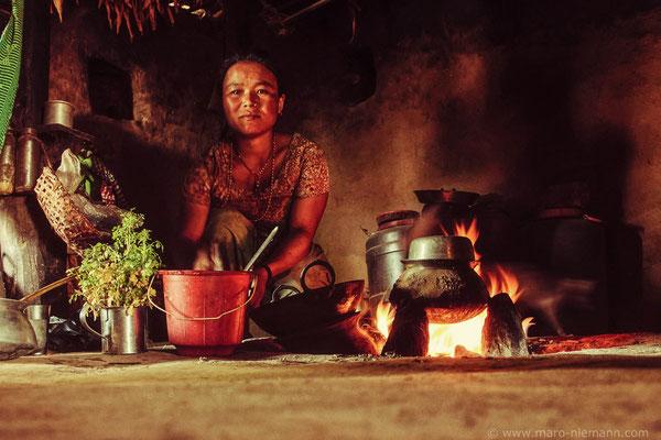 Tamang Woman - Nepal