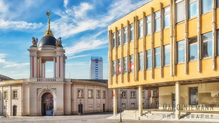 Fachhochschule Potsdam mit Fortunaportal
