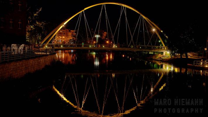 Slodowa footbridge · Wrocław · Poland