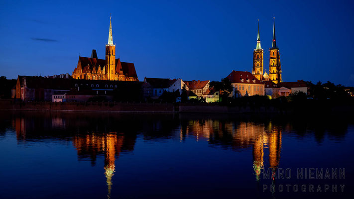 Collegiate Church of the Holy Cross and St Bartholomew and The Cathedral of St. John the Baptist · Wrocław · Poland