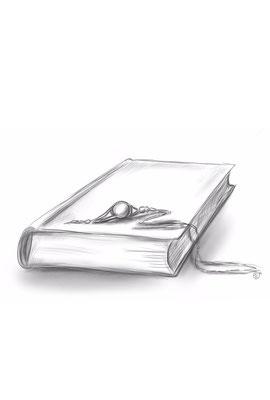 Ein Amulett, ein ledernes Tagebuch und...