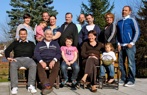 Familie Merz und Dotterweich