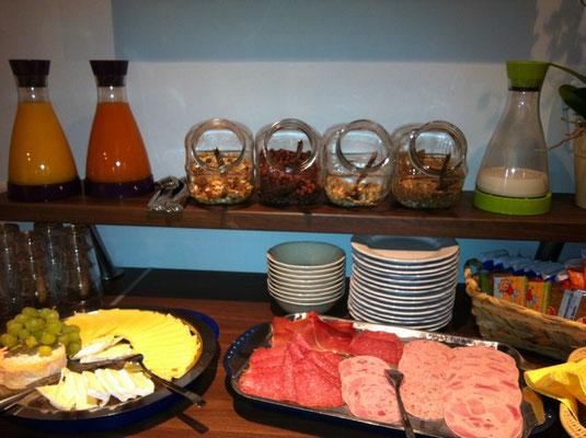 Fürhstücksbuffet