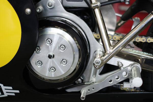 Vincent Godet motorcycles Egli moto 500 embrayage