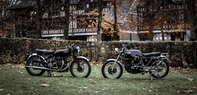 Vincent Godet motorcycles moto  black shadow