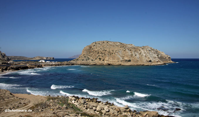 Blick auf die Halbinsel Paleokastro