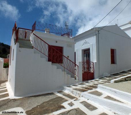 weiß getünchte Häuser