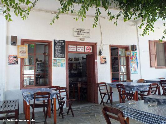 Das Kafenion Omonia
