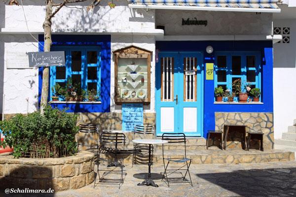 Kafenion im oberen Dorf