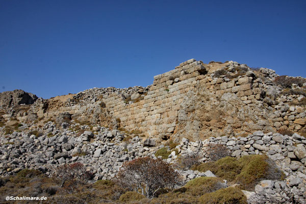 der antiken Stadt.
