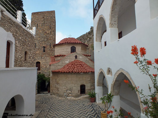 Blick in den Klosterhof
