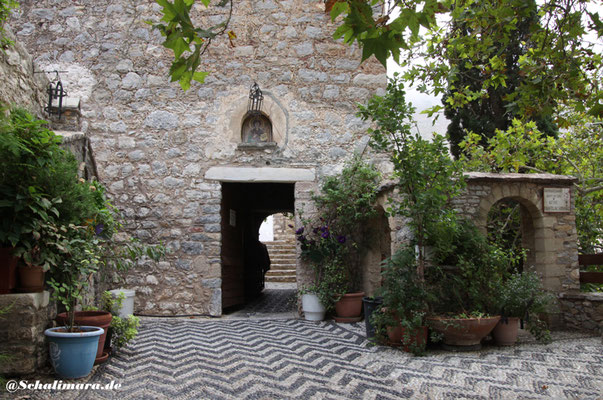 des Klosters Pandelemonas