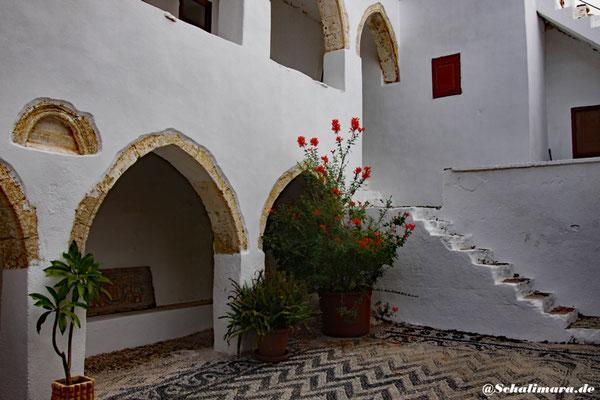 Der Innenhof des Klosters