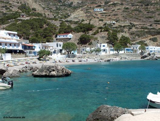 Strand von Agios Nikolaos