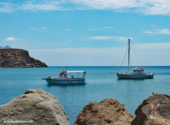 Anafi am Hafen Agios Nikolaos